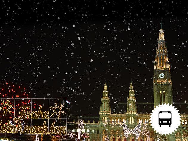 Szilveszter Bécsben! Non-stop autóbuszos utazás városnézéssel és belvárosi partyval / fő (2016. december 31- 2017. január 1.)