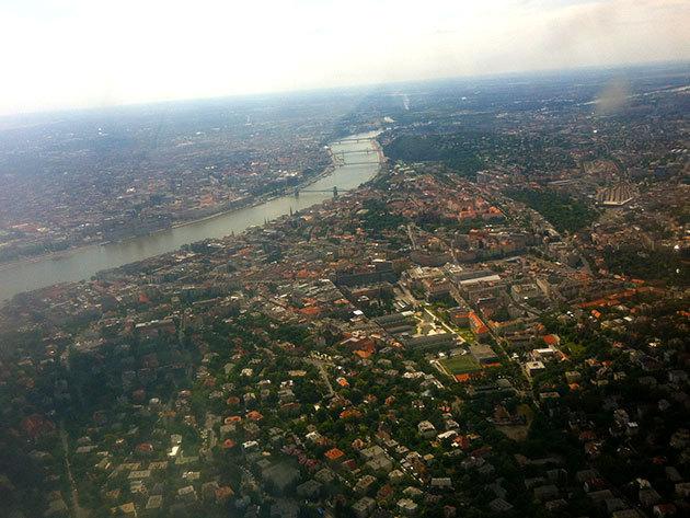 Panorámarepülés Budapest fölött a Télapóval (15 perc) - max. 3 fő részére