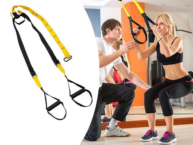 Suspension trainer edzőheveder 1 év garanciával a funkcionális edzésekhez - Hozd formába magad otthonod kényelmében, vagy a szabadban!