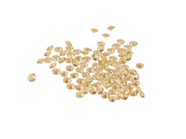 Swarovski szórt kristályok - Arany