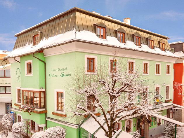 Ausztria, Hotel Grüner Baum**** - 3 nap 2 éj 2 főre reggelivel, wellnessel, 10%-os kedvezményes síbérlettel és 1x4 fogásos vacsorával