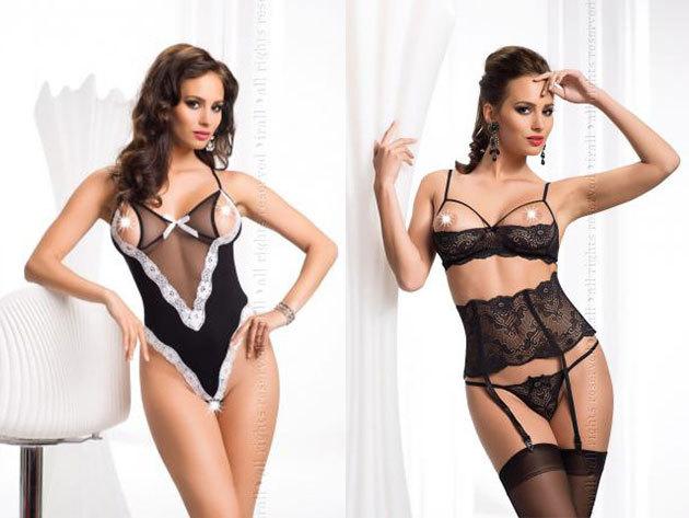 Erotikus fehérneműk, minőségi anyagokból, egyedi tervezéssel S-XXL méretben - Légy kifinomultan ellenállhatatlan!