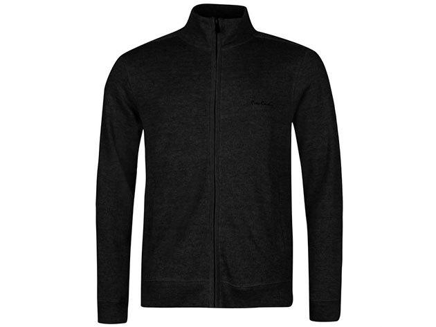 Pierre Cardin Full Zipp Cardigan Mens, férfi végig zippes felső  (559315) - black - S