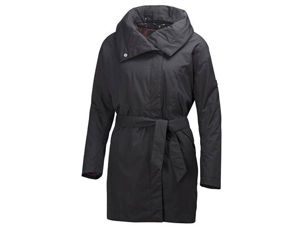 Helly Hansen EMBLA WRAP COAT BLACK XS (62457_990-XS)
