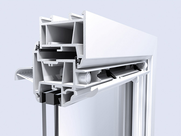 Trimvent Select Xtra S13 + XC13 műanyag manuális légbevezető szett (barna)
