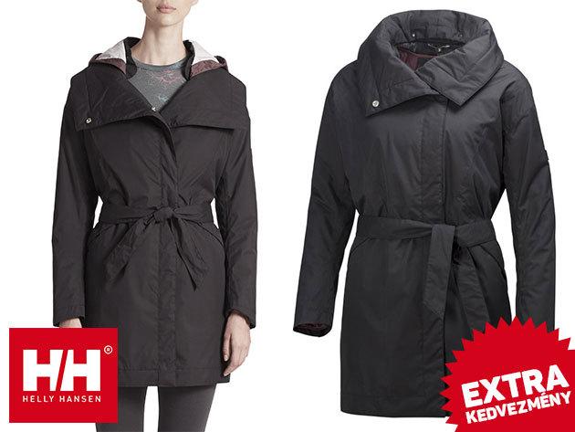 Helly Hansen EMBLA WRAP COAT prémium kategóriás női téli kabát - kifinomult stílus, hasznos funkciókkal: vízlepergető, szélálló, lélegző anyag, kivehető bélés