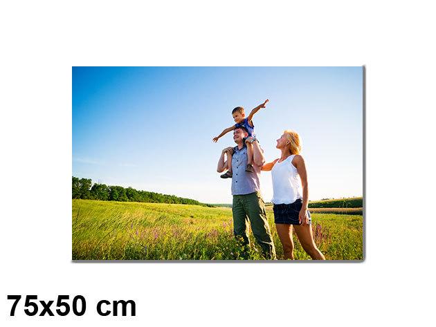 Vászonkép nyomtatás saját fotódból vakrámára feszítve - 75x50cm