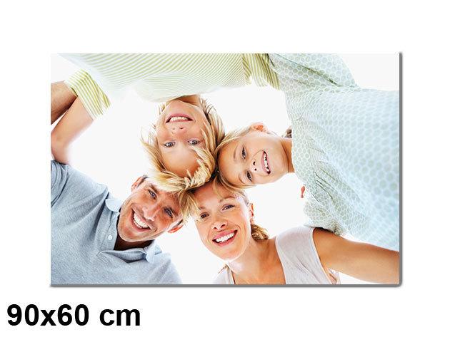 Vászonkép nyomtatás saját fotódból vakrámára feszítve - 90x60 cm