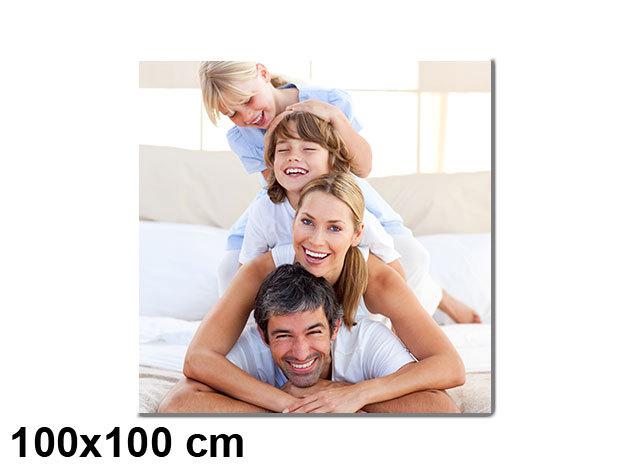 Vászonkép nyomtatás saját fotódból vakrámára feszítve - 100x100 cm