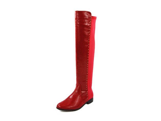 Padini női csizma fekete és piros színben 36-41 méretig 0a2e27541d