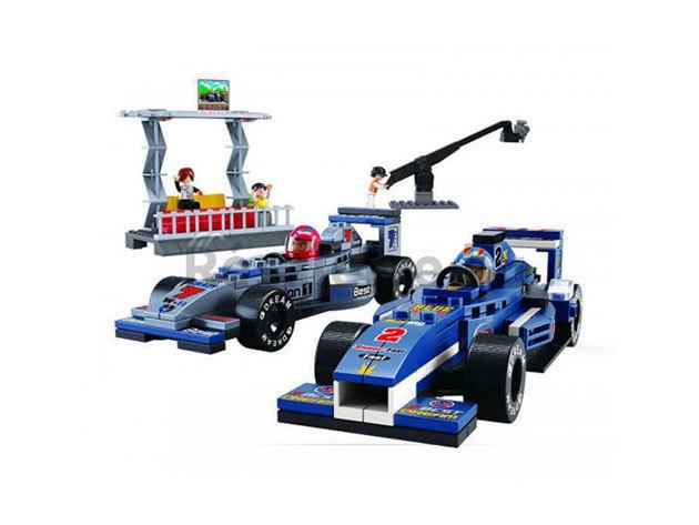 Sluban Formula1 versenyautók készlet