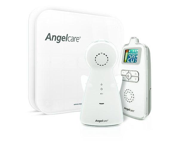 Angelcare AC-403 légzésfigyelő és bébiőr kábelrögzítővel