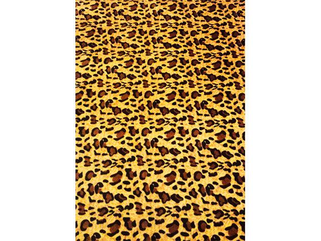 SMARTEX Prémium Corall Fleece Polár takaró Gepárd (12) 200x230cm