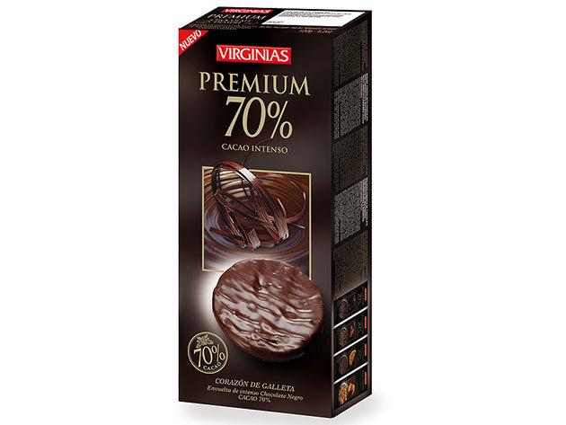Virginias csokis keksz / 70%-os étcsokis / 120g