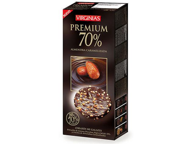 Virginias csokis keksz / Mandulás / 120g