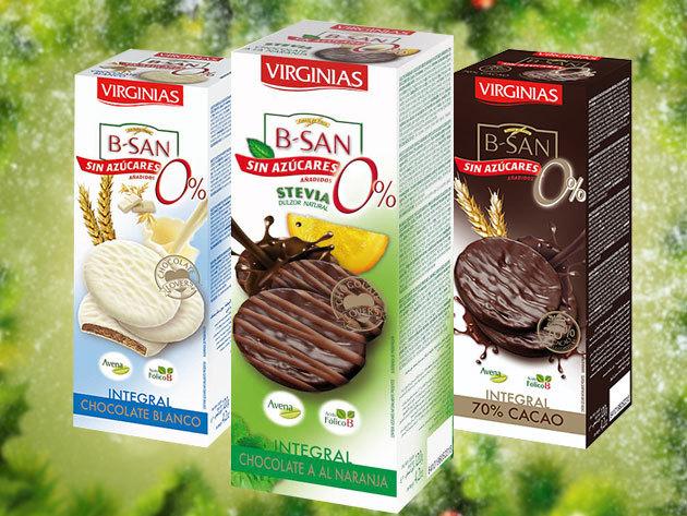 Virginias prémium csokis kekszek: cukormentes, 70% étcsokis, mandulás, triplacsokis Brownie-s... stb. ízesítésű finomságok Spanyolországból