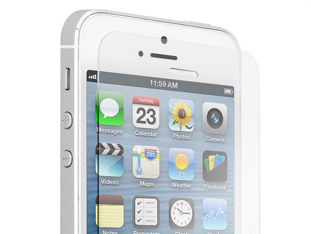 TEMPERED GLASS TÖRÉSÁLLÓ FÓLIA  - ultravékony edzett üveg kijelzővédő a legnépszerűbb mobiltelefonokra (iPhone, Samsung, LG, Sony, Huawei)