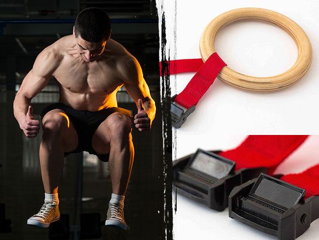 CrossFit tornászgyűrű funkcionális tréningekhez és gimnasztikához - A kőkemény bicepszekért!