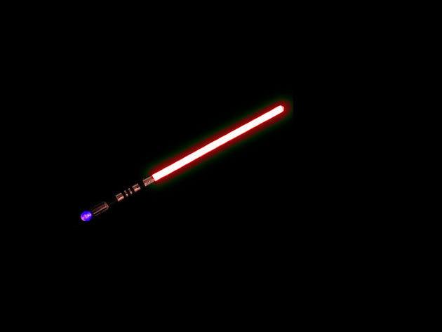 Jedi fénykard - piros, 72 cm