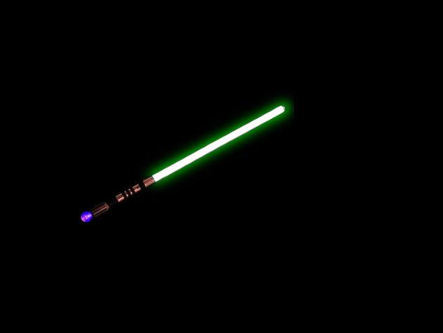 Jedi fénykard - zöld, 72 cm