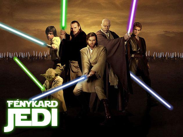 Jedi fénykard LED világítással / 72 cm - A te gyermekedből is válhat Jedi lovag, a birodalom őrzője!