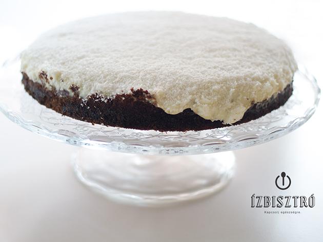 Könnyű kókuszos torta - 8 szeletes