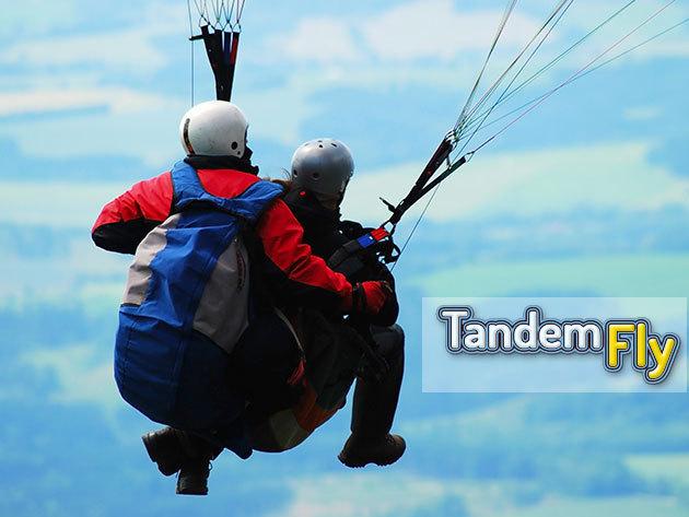 Siklóernyős tandemrepülés videó felvétellel, 6-60 éves korig - szemléld fentről a világot és élvezd a panorámát / Helyszín: Budapest, Pilis, Gödöllő,  Kalocsa, Velencei tó