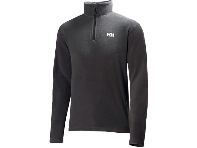 Helly Hansen DAYBREAKER 1/2 ZIP FLEECE EBONY S (50844_981-S)
