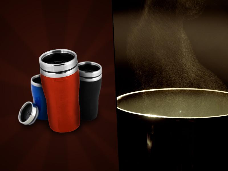 Megfagyás esete forog fenn? Forró italra vágysz? A thermo bögrével mindig magaddal viheted a meleget, most 25% kedvezménnyel.