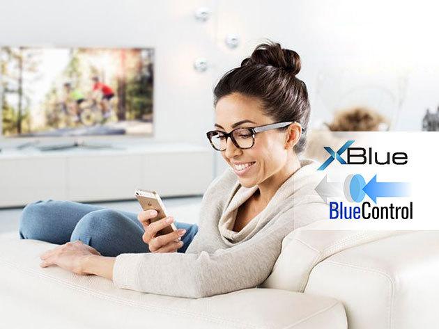 XBlue – BlueControl szemüveglencséjű komplett szemüveg - védi szemeidet a digitális fényben is