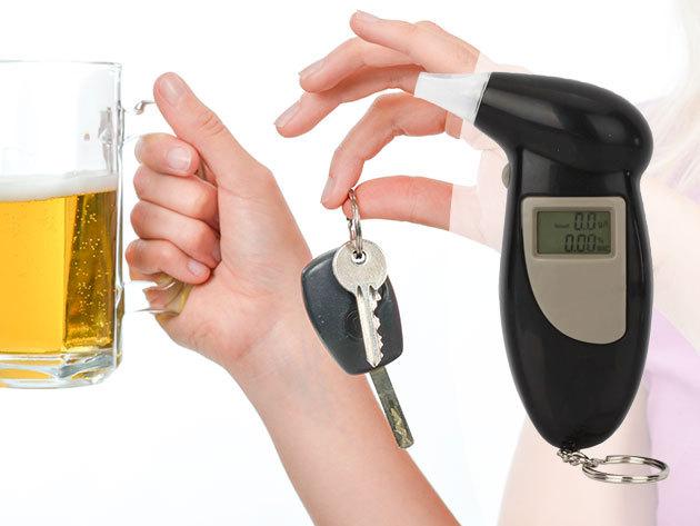Digitális alkoholszonda - ellenőrizd egy átmulatott éjszaka után, hogy volán mögé ülhetsz-e már!