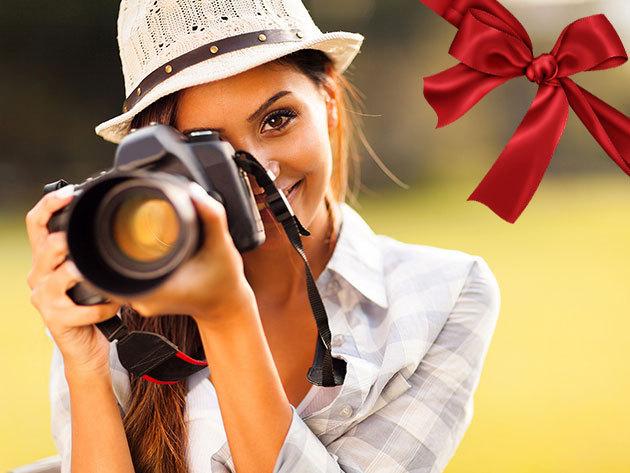 Fotós tanfolyam: 10 alkalom elméleti + gyakorlati oktatás az alapoktól / Ajándékozd a lehetőséget!