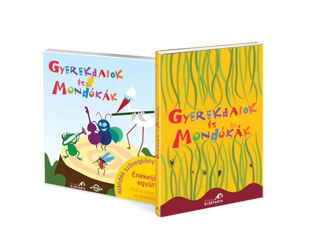 Gyerekdalok és Mondókák nagykönyve; Gyerekdalok és Mondókák CD és könyv