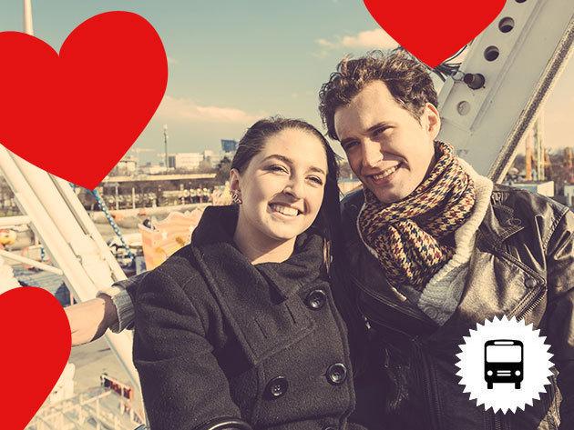 Valentin nap Bécsben! Non-stop buszos utazás február 18-án városnézéssel, romantikus sétákkal, vagy kedvetek szerint óriáskerék, állatkert pandákkal, fiákerezés