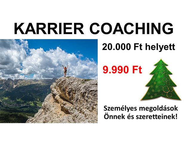 Karrier coaching, 2*90 perc - tréning a sikeres munkavállalásért!