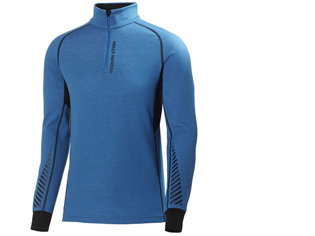Helly Hansen HH WARM FLOW HIGH NECK 1/2 ZIP COBALT BLUE XL (48273_519-XL) - AZONNAL ÁTVEHETŐ