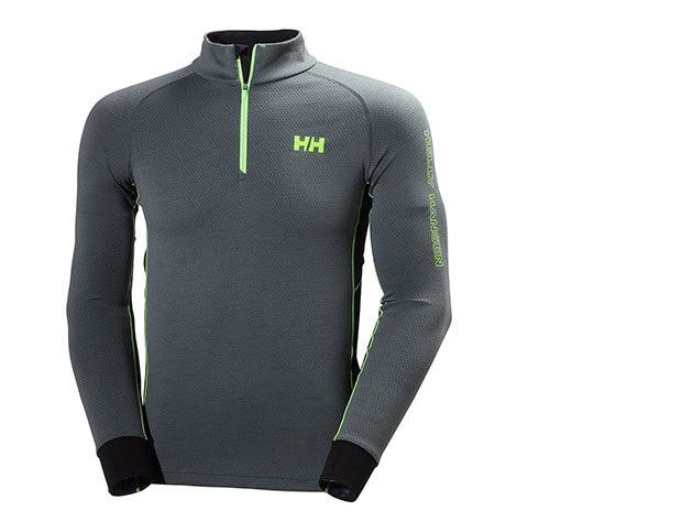 Helly Hansen HH WARM FLOW HIGH NECK 1/2 ZIP ROCK M (48273_898-M)