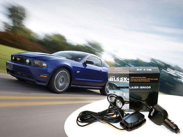 Autós lézeres traffipax jelző - EliTech BLS SX külső lézerszenzor, mellyel elkerülheted a büntetéseket