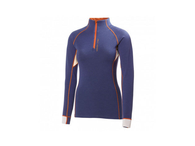 Helly Hansen W HH WARM FLOW HIGH NECK 1/2 ZIP PRINCESS PURPLE M (48274_293-M) - AZONNAL ÁTVEHETŐ