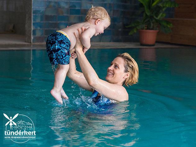 Tündérkert Hotel Noszvaj - szállás 3 nap 2 éjszaka szállás és wellness 2 felnőtt + 2 gyermek (10 éves korig) részére félpanziós ellátással