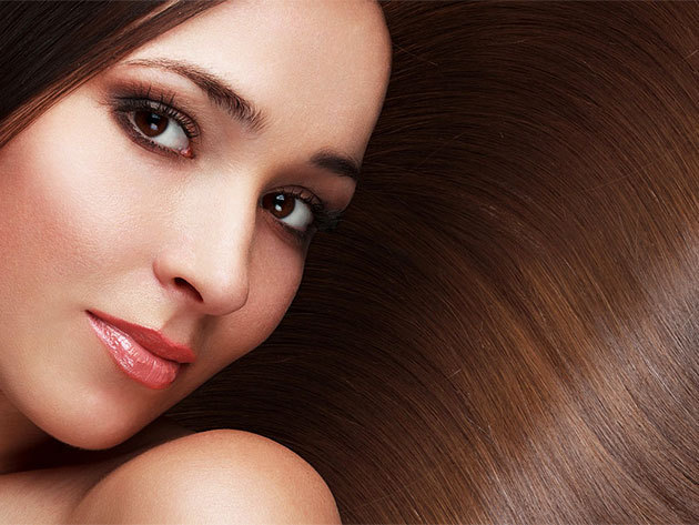 Női hajfestés Alfaparf termékkel - mosás, fejmasszázs, argánolajas pakolás, szárítás, max. félhosszú hajra