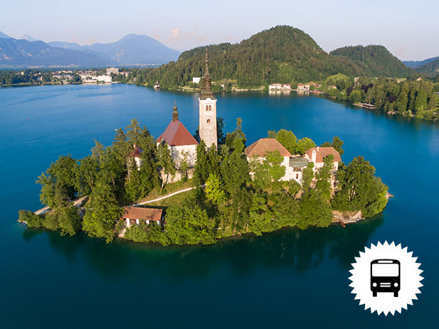 BLED és BOHINJ autóbuszos utazás Szlovéniába nyáron és ősszel, 1 éjszaka szállással, félpanziós ellátással, idegenvezetéssel / fő