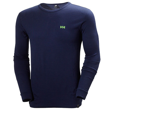 Helly Hansen HH WOOL LS EVENING BLUE L (48501_690-L)