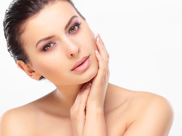 Arcfiatalítás - KollagenDerm Ledmask az öregedési folyamat megállításáért teljes arcon