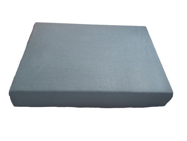 Szürke pamut gumis lepedő - 100x200 cm