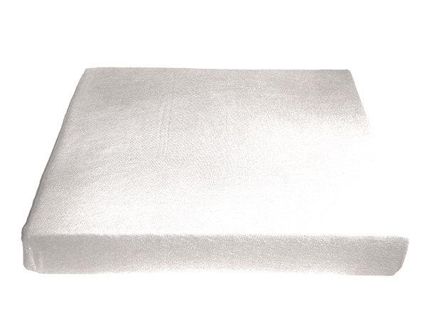 Fehér pamut gumis lepedő - 100x200 cm