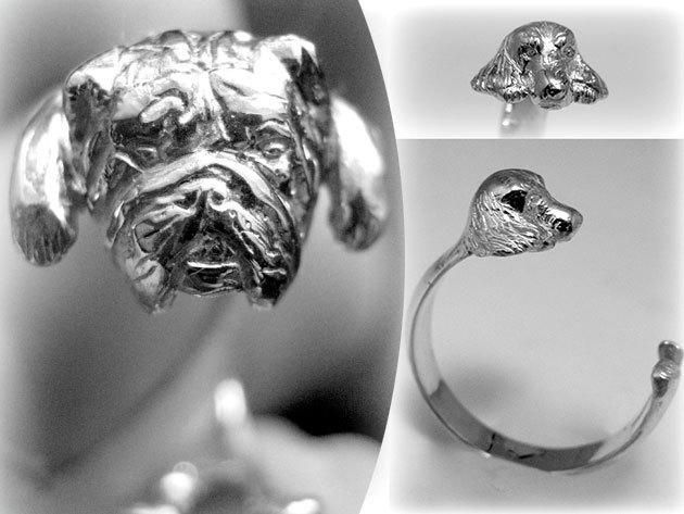 'Állati ezüst gyűrűk', méretre igazítható kialakítással, magyar tervezőtől - mindig közel érezheted magadhoz kedvencedet
