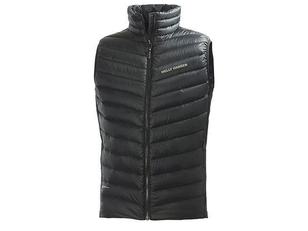 Helly Hansen VERGLAS DOWN INSULATOR VEST BLACK XL (62338_990-XL)