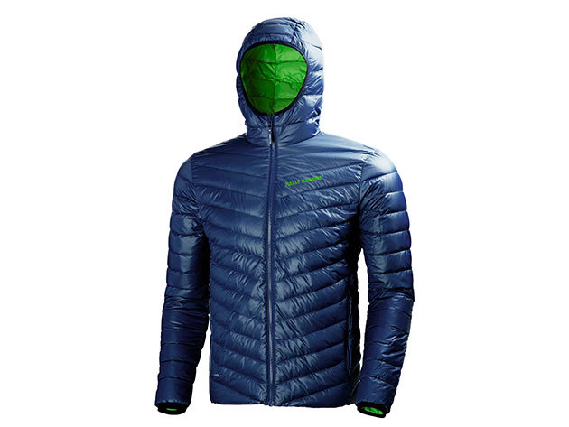 Helly Hansen VERGLAS HOODED DOWN INSULATOR EVENING BLUE XL (62509_689-XL)