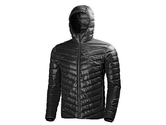 Helly Hansen VERGLAS HOODED DOWN INSULATOR BLACK M (62509_990-M)
